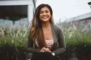 Smiling Woman - Dental Bonding